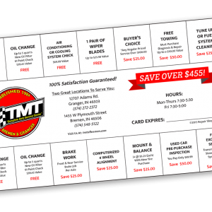 TMT car care club graphic