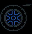 vehicle tire icon