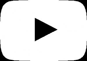 white youtube icon